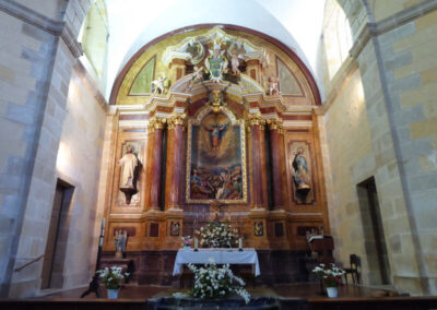 Retablo mayor de Ajangiz
