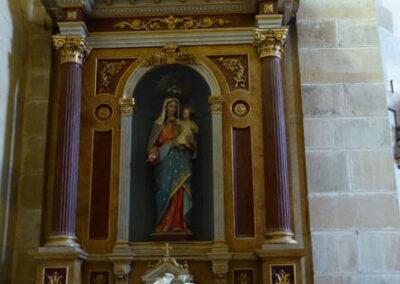 Retablo de la Virgen del Rosario