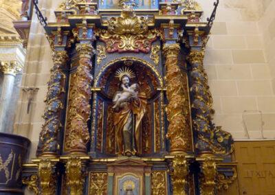 Retablo barroco de San José, tallado entre 1738 y 1742 por Pedro de la Garma
