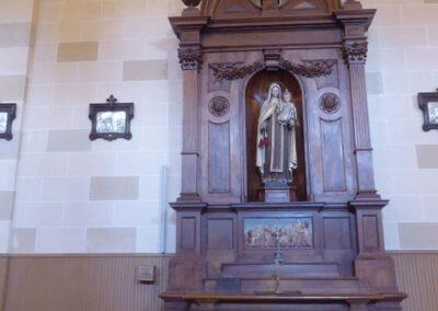 Retablo de la Virgen del Carmen