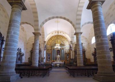 Interior de la iglesia de Santo Tomás
