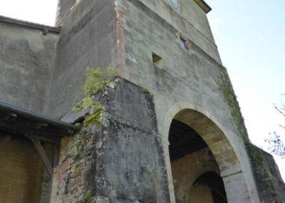Torre campanario obra de Martín de Basagoiti en 1635