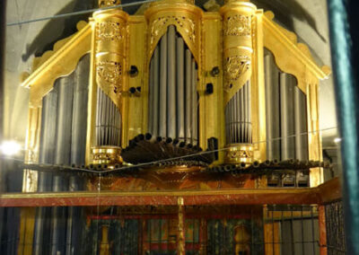 Órgano de estilo rococó del año 1777