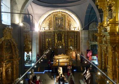 Capilla mayor de la iglesia del convento de Santa Clara