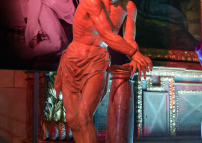 Cristo en la columna labrado hacia 1800