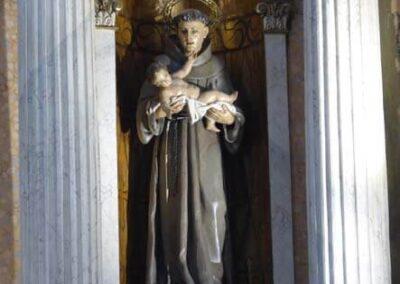 San Antonio de Padua con el Niño en brazos
