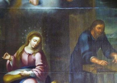 La Sagrada Familia y San Juan niño