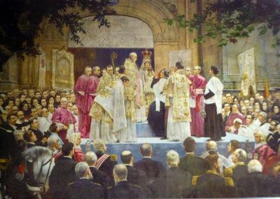 Coronación de la Virgen de Begoña el 8 de septiembre de 1900, José de Echenagusia, 1902