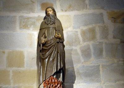 San Antón, imagen gótica de mediados del siglo XV