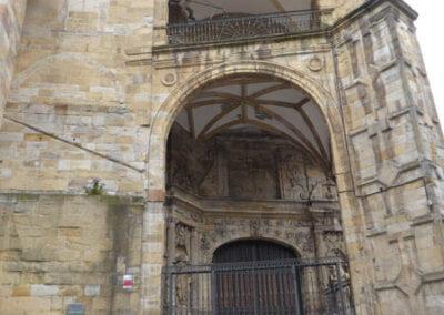 Detalle del pórtico renacentista de San Antón