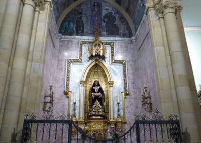 Altar del Nazareno, obra de Lorenzo Coullaut Valera, 1949