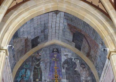 Mosaico de terracota