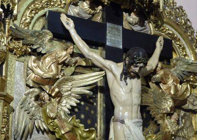 Cristo rodeado de ángeles