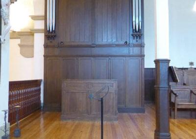 Órgano de 1908 en el coro