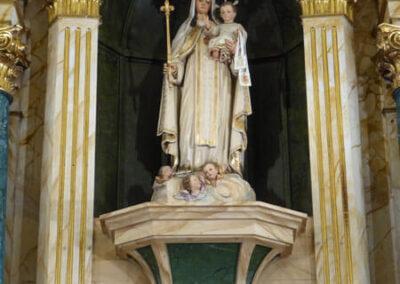 Virgen de la Merced de finales del siglo XIX