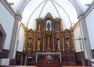 Cabecera de la iglesia de Santa Clara