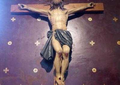 Crucificado en la capilla de la Venerable Orden Tercera de San Francisco