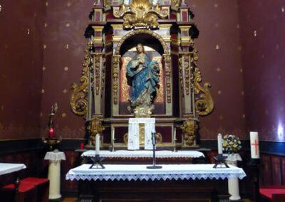 Retablo de la capilla de la Venerable Orden Tercera de San Francisco