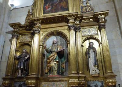 Retablo renacentista de la capilla de San Pedro