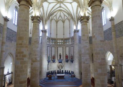 Interior de la iglesia de la Asunción de María
