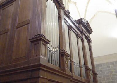Órgano E.F. Walcker construido en 1889
