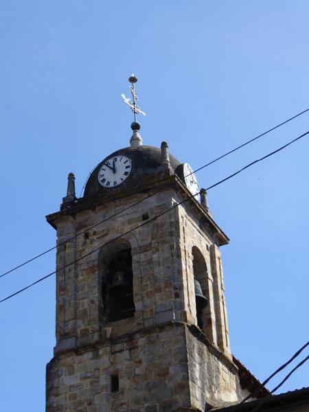Torre campanario construida en 1587 por Juan de Hontañón y Juan de Garita