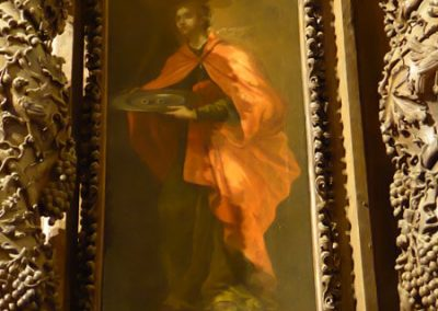 Pintura de Santa Lucía