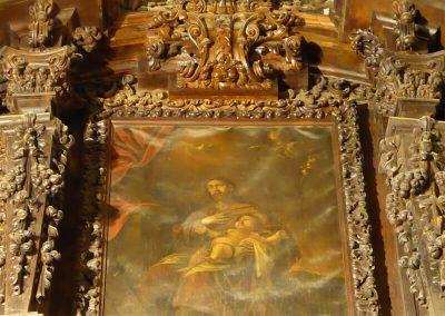 Pintura de San José y el Niño