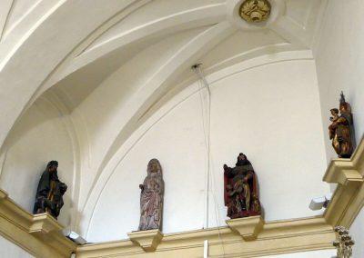 Esculturas de la sacristía