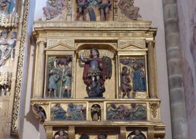 Retablo de San Miguel labrado a comienzos del siglo XVII