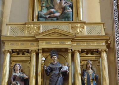Retablo de San Antonio tallado hacia 1620