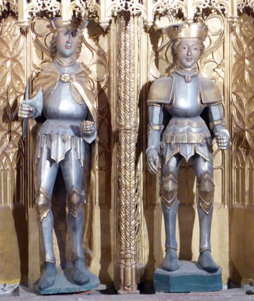 Santos Emeterio y Celedonio