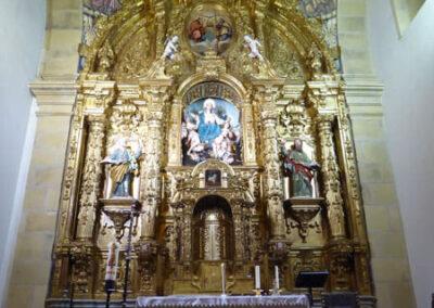 Retablo de la Asunción de María, obra de Bernardo del Anillo, ca. 1740