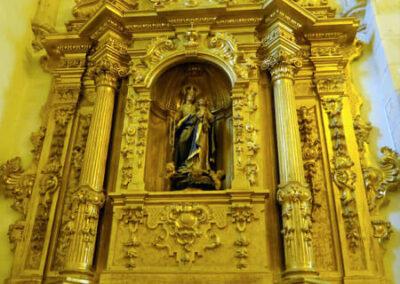 Retablo del Rosario, Juan de Iturburu, 1764