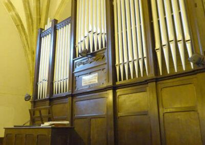 Órgano construido en 1949