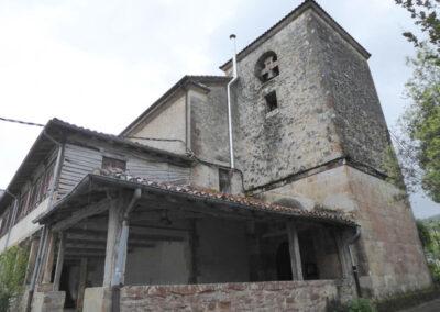Torre campanario trazada en 1724 por Fray Marcos de Santa Teresa