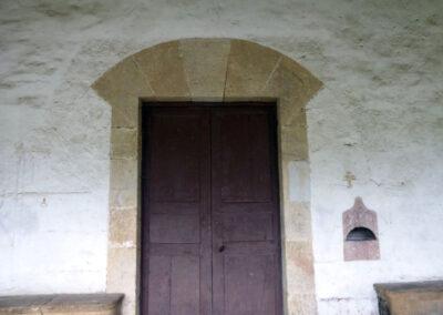 Acceso sur de estilo renacentista