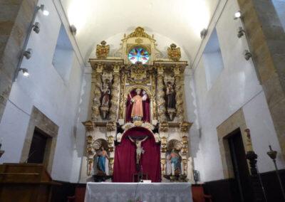 Retablo de San Vicente, de estilo barroco