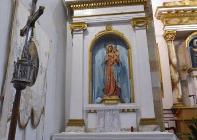 Retablo de la Virgen María