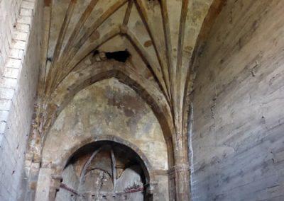 Espacio de la iglesia. Estado actual