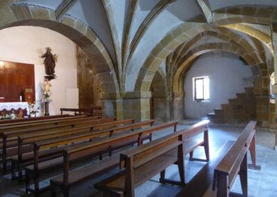 Interior de la iglesia de San Julián