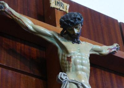Crucifijo romanista del siglo XVII
