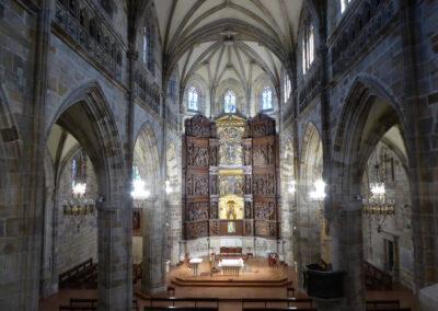 Interior de la iglesia de Santa María de Portugalete