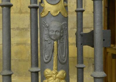 Reja de hierro labrada en 1569
