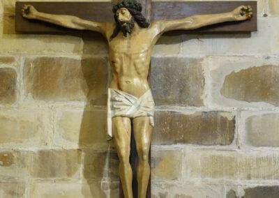 Cristo gótico hispano-flamenco de finales del siglo XVI