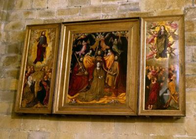 Tríptico de la Ascensión, Coronación y Asunción de la Virgen
