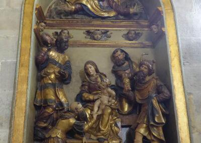 Portugalete_SantaMaria (63): Retablo en la capilla de la Adoración de los Reyes, obra de los Beaugrant