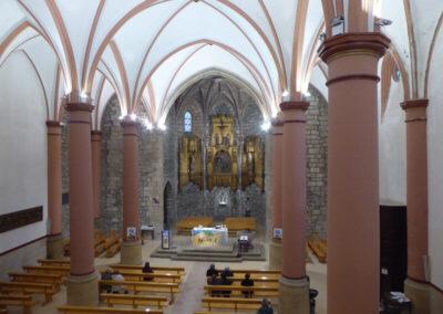 Interior de la iglesia de la Anunciación de María